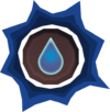 Prepared water rune detail