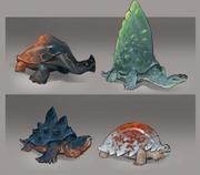 Eastern Lands - Arc turtles concept art