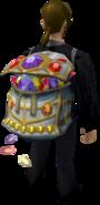 Gem sack equipped
