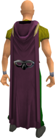 Hooded thieving cape equipped