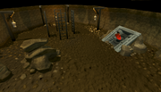 Mining Guild Resource Dungeon entrance