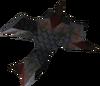 Black dragonhide vambraces detail