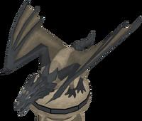 Fine dragon statue