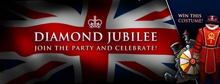 Diamond Jubilee Banner