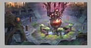 God Wars Dungeon 2 concept art 3