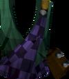 Highland top (purple) detail