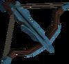 Off-hand rune crossbow detail