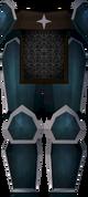 Rune platelegs (Saradomin) detail