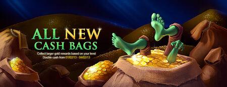 Cash Bags banner
