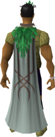 First age cape equipped