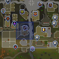 Shopkeeper (Varrock Sword Shop) location