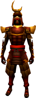 Superior tetsu armour set equipped (male)