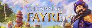 Spring Fayre lobby banner