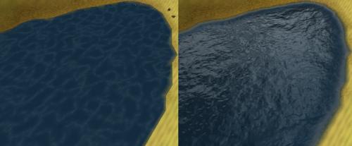 Water Detail Comparison