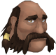 Dwarven Boatman (ore hauler) chathead