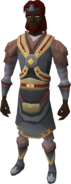 Tribal outfit equipped (male)