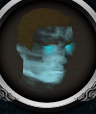 Ghostly guard head chathead