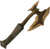 Off-hand marmaros battleaxe detail