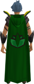 Retro hooded herblore cape equipped