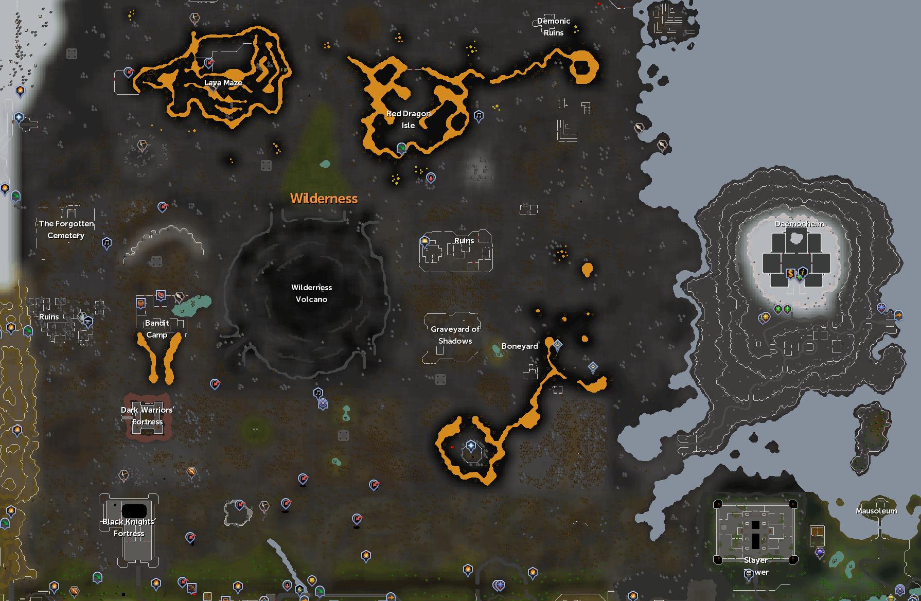 Wilderness/Survival guide   RuneScape Wiki   FANDOM powered by Wikia