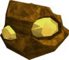 Gold-rock