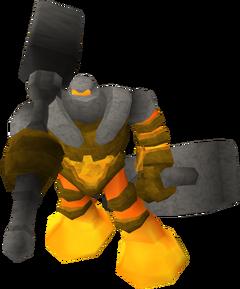 Lesser reborn warrior
