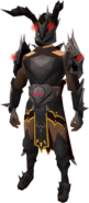 Shadow Demon outfit equipped (male)