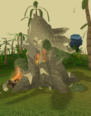 Dead evil tree (burning)