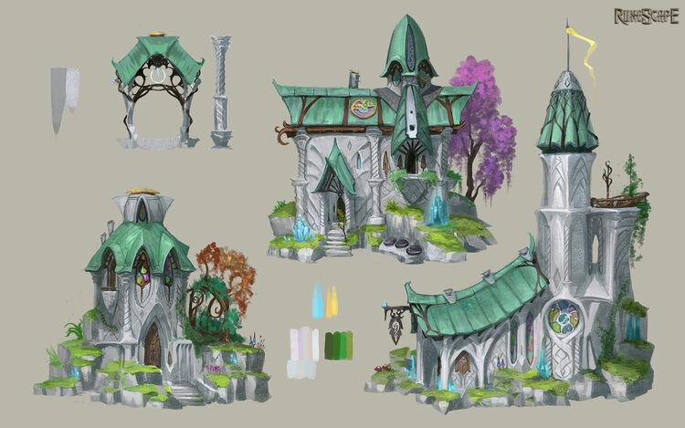 Elf City concept art news image