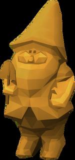 Golden gnome pet