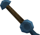 Off-hand rune knife