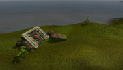 Dragontooth Island resource dungeon entrance