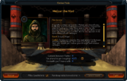 Dominion menu