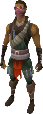Botanist's outfit equipped