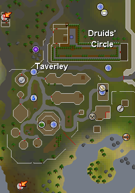 Taverley map old