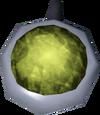 Opal amulet (unstrung) detail