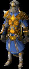 Warpriest of Saradomin set equipped
