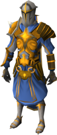 Warpriest of Saradomin set equipped