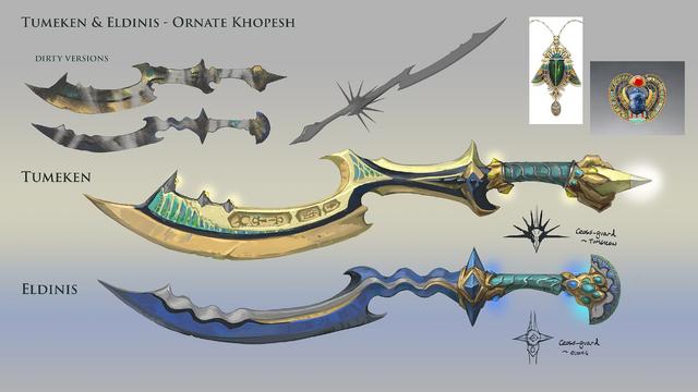File:Ornate khopesh concept art.png