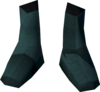Colonist's shoes (green) detail