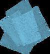 Magic notepaper detail