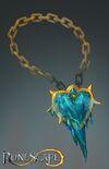 Heartfreezer amulet concept art
