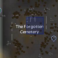 Spirit Realm portal (Forgotten Cemetery) location