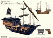 Void Knight ferry concept art