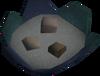 Uncooked arc gumbo detail