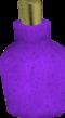 Purple dye detail