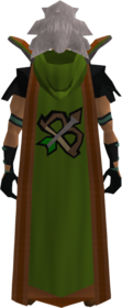 Retro hooded ranged cape (t) equipped