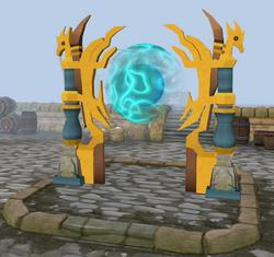 Ornate portal