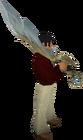 Armadyl godsword equipped