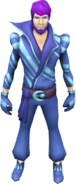 Disco outfit (male) equipped